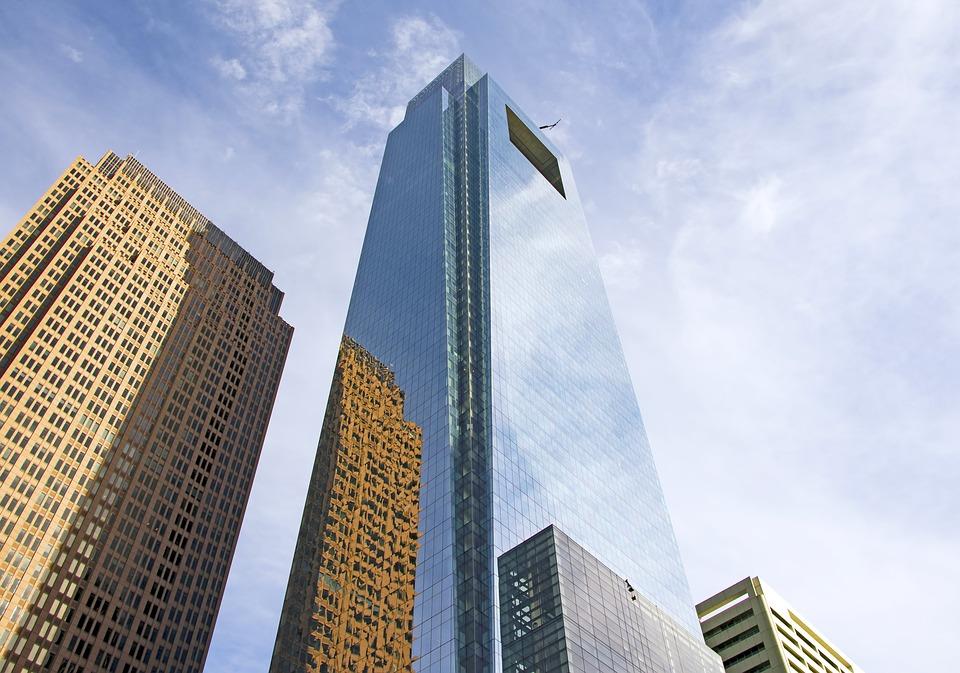 Comcast Corporation skyscraper in Philadelphia, PA